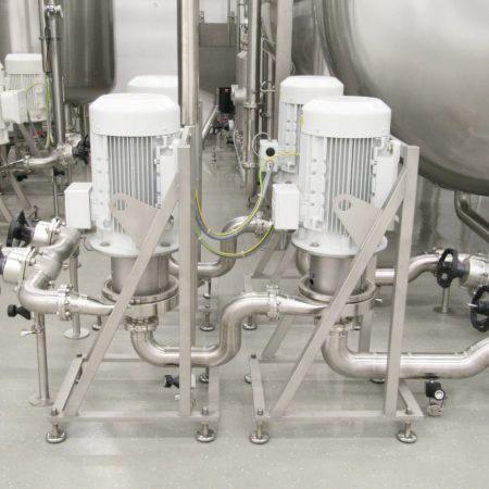 Farmaceutische industrie - KPA KN hygiënische centrifugalpompen