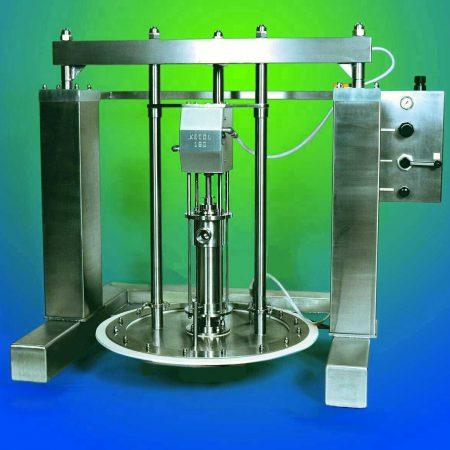Kecol Megaprime drum unloading system / hygiënische vatenlediger