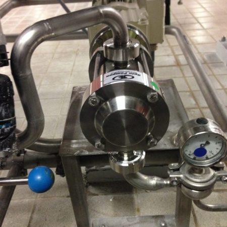 Brouwerij - Doseren van additieven - Mouvex Micro-C oscillerende zuigerpomp / doseerpomp