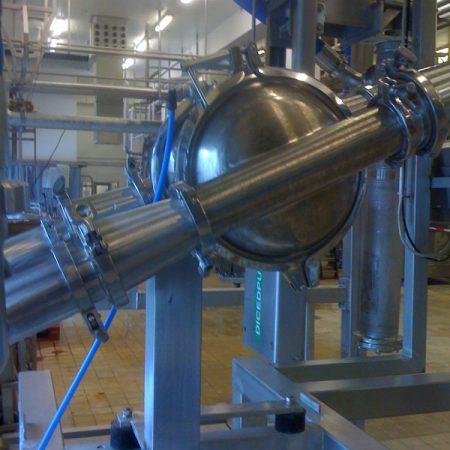 Vleesindustrie - Paté - Murzan PI-50 luchtgedreven membraanpomp