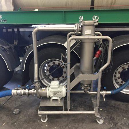 Convenience food - Plantaardige olie - Mobiele pompset met KPA KN centrifugaalpomp