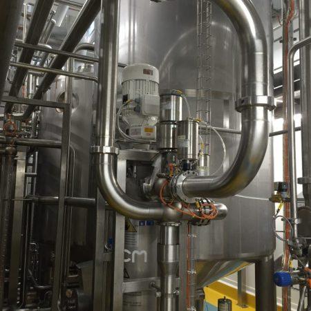 Saus-industrie - Dressing - PCM Dosymix dynamische menger / mixer