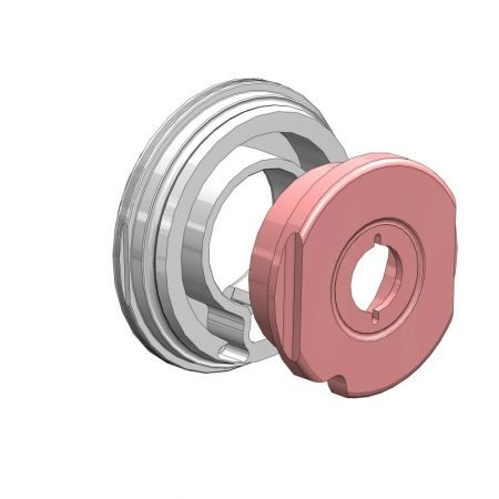 Mouvex SLS hygiënische oscillerende zuigerpomp - Disc en cilinder