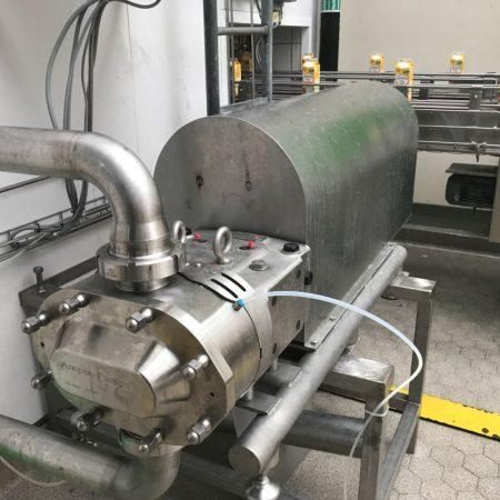 Zuivelindustrie - Yoghurt - Ampco ZP-3 draaizuigerpomp