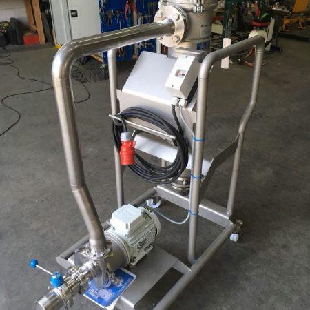 Convenience food - Plantaardige olie - Mobiele pompset met KPA KN centrifugaalpomp, besturing en filter