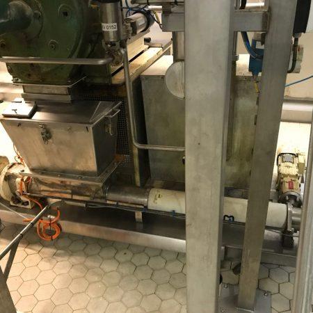 Sausindustrie - Pindamassa - PCM LVA excentrische wormpomp / trechterpomp