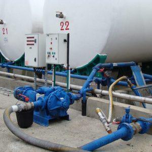 Oliën- en vettenindustrie - Visolie - Mouvex A-serie oscillerende zuigerpomp