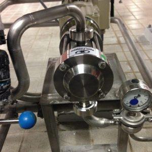 Brouwerij - Doseren van additieven - Mouvex Micro C oscillerende zuigerpomp / doseerpomp