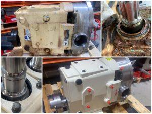 Refurbishment Ampco draaizuigerpomp-Spin Pompen
