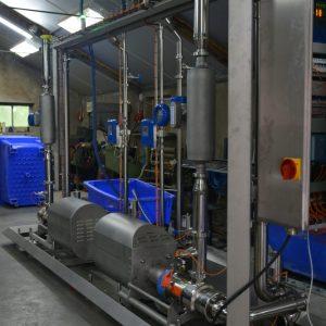 Vleesindustrie - Doseren aroma's in vleesproducten - Bornemann SLH-4G hygiënische spindelpomp