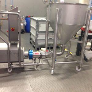 Cosmetische industrie - Verzorgingsproduct / scrub - Bornemann SLH-4G spindelpomp