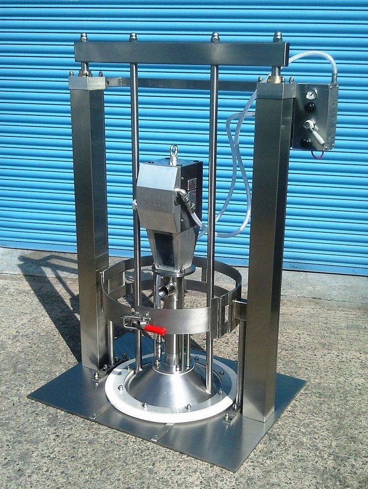 Kecol Maxiprime hygiënische drum unloading systemen - vatenledigers