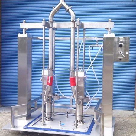 Kecol drum unolading system / vatenlediger