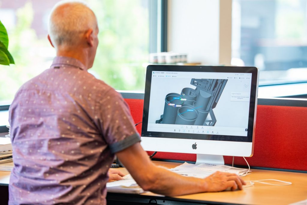 Spin Pompen - Engineering - Skidbouw - Pompinstallatie