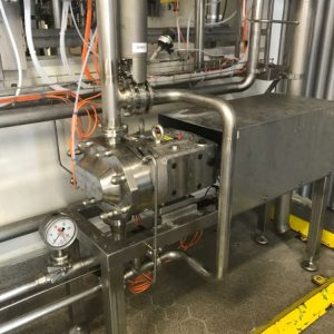 Voedingsindustrie - Ampco ZP3 hygiënische draaizuigerpomp - Volledig drainable zonder efficiency-verlies