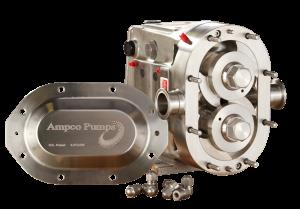 Verdringerpomp - Ampco ZP3 draaizuigerpomp